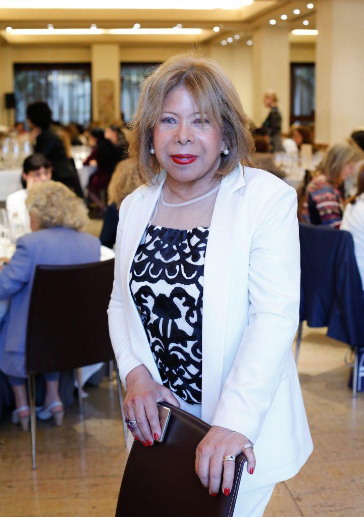 Sonia Prince de Galimberti en la sala de cata