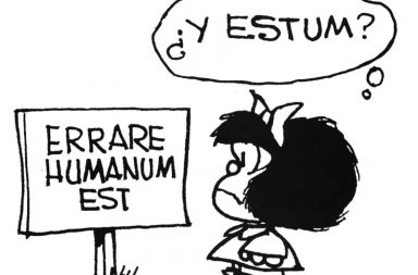 Mafalda-Equivocarse